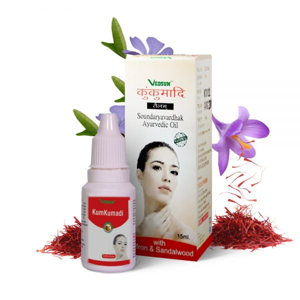 KUMKUMADI TAILAM | AYURVEDIC OIL FOR THE REMOVAL OF SCAR AND SKIN BRIGHTENING