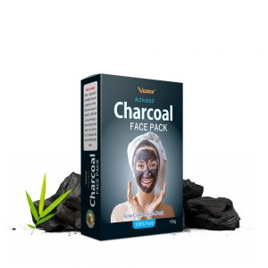 Charcoal Face Pack for Men and Women to Clean Skin Dirt