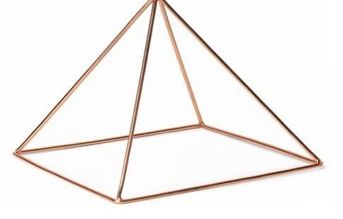 Исцеляющая зарядная медная пирамида