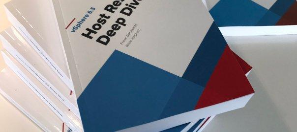 VMware vSphere 6.5 Host Resources Deep Dive proof copies