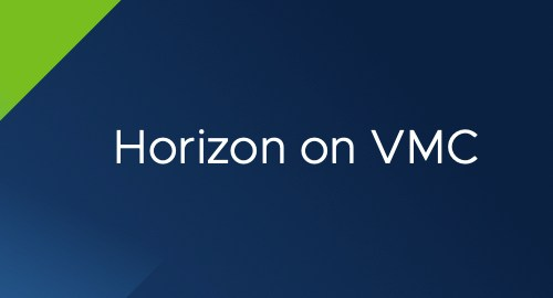 Horizon on VMC header