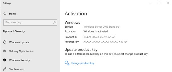 Windows Server Successfully activated veducate.co .uk