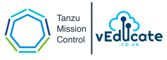 Tanzu Mission Control Header
