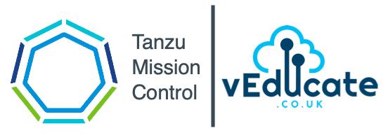 Tanzu Mission Control Header