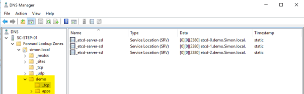Deploy OpenShift VMware Static IP DNS Records 2
