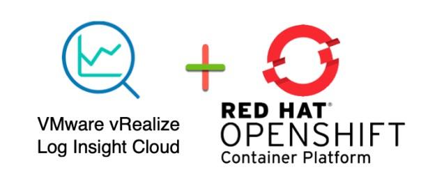 VMware vRealize Log Insight Cloud Red Hat OpenShift header