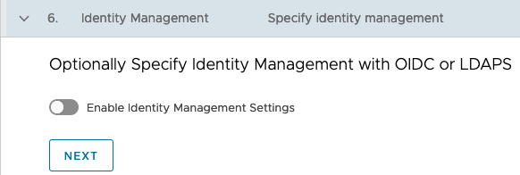 Deploy Management cluster to Azure Identity Management