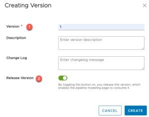 vRA Deploy Tanzu Guest Cluster - Code Stream - Create Custom Integration - Copy code - Creating a version