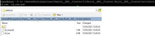 Code Stream - Preserve Artifacts - Docker Host - Location