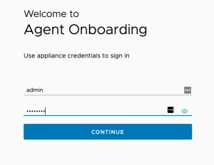 Data Management for Tanzu - Agent onboarding