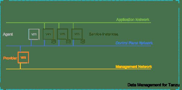Data Management for Tanzu Network Architecture
