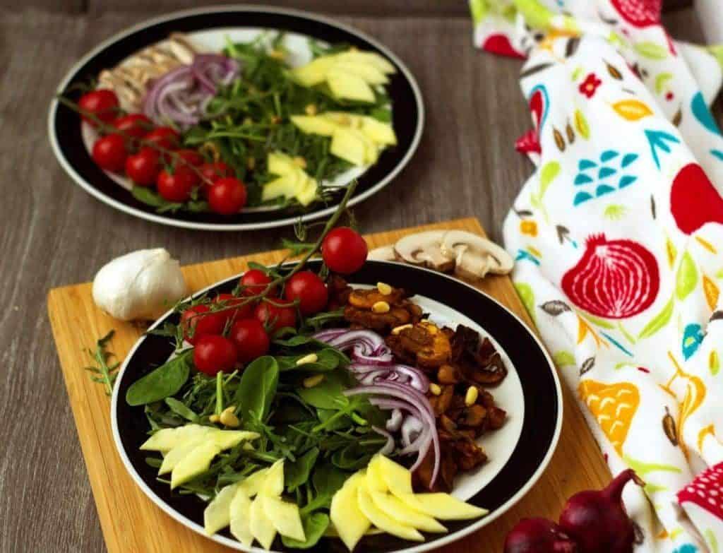 Champignon Mango Summer Salad