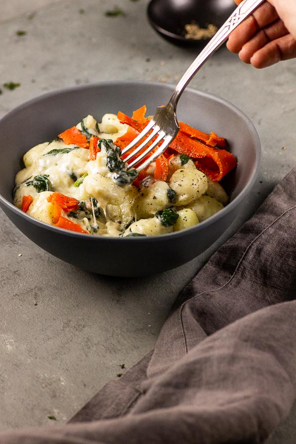 vegane gorgonzola sauce