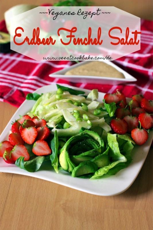 erdbeer fenchel salat