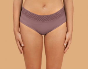 thinx purple period panties