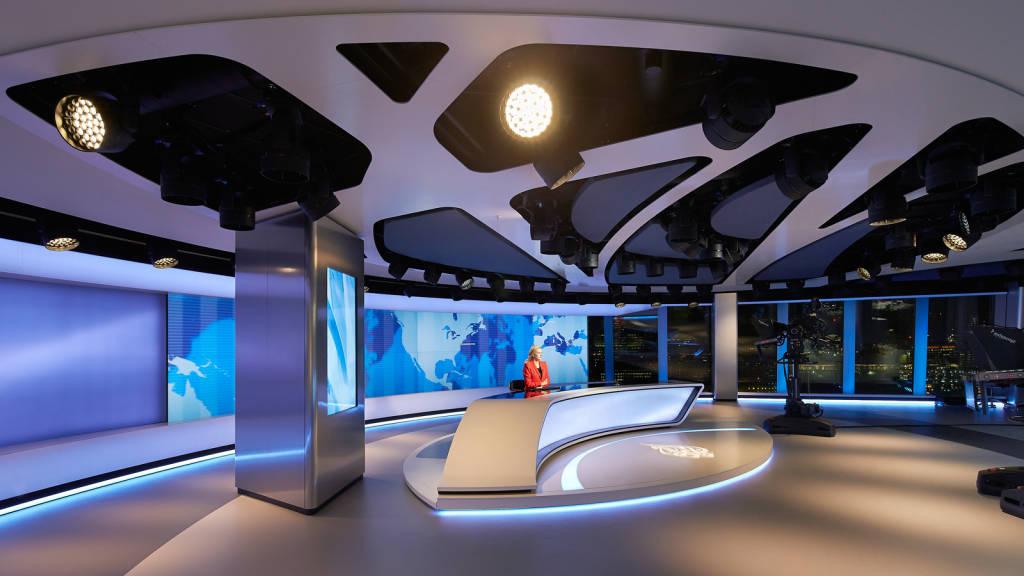 Al Jazeera London Broadcast Studio  Veech x Veech