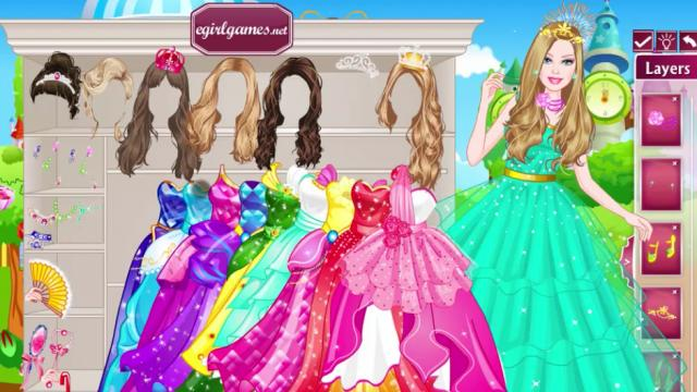 Barbie Dress Games Play Now Please