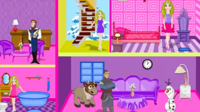 Doll House Decorating Games Online Play Free Barbie Game