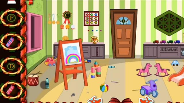knf lovely living room escape walkthrough burgundy furniture kids play the free game online