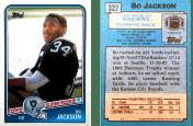 Bo Jackson 1988 Topps #327