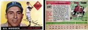 Gil Hodges 1955 Topps #187