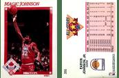 Magic Johnson 1991 Hoops #266