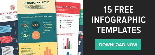 descargar 15 plantillas de infografía gratis