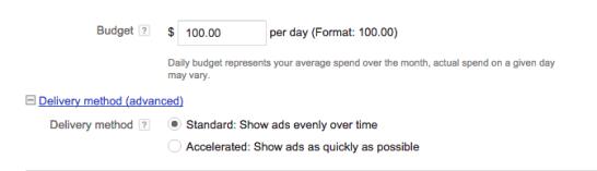 """video-public-delivery-delivery.png """"title ="""" video-public-delivery-delivery.png """"width ="""" 672 """"height ="""" 194 """"style ="""" margin-left: auto; margin-right: auto """"> </p> <h3> Redes </h3> <p> Decida dónde quiere que aparezca su anuncio. </p> <ul> <li> Búsqueda de YouTube: su Los anuncios de video aparecerán en los resultados de las búsquedas y aparecerán en la página de inicio de YouTube, páginas de canales y páginas de videos. </li> <li> Videos de YouTube: esto ejecuta anuncios de TrueView que pueden aparecer en anuncios de display o in-stream. Con esta opción , puede elegir que su anuncio de video aparezca antes o alrededor de los videos mostrados en la Red de Display de Google. </li> </ul> <p> Debe crear campañas separadas para la Búsqueda de YouTube y el Video de YouTube, ya que esto le ayudará a realizar un mejor seguimiento de las métricas de rendimiento. a personas que realizan actividades muy diferentes y requieren una cantidad diferente de compromiso del espectador, por lo que es mejor monit o rendimiento por separado. </p> <p> <img class="""