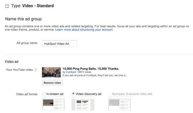 """video_ad_creative_youtube.png """"title ="""" video_ad_creative_youtube.png """"width ="""" 772 """"style ="""" width: 772px; margin-left: auto; margin-right: auto """"> </p> <p> Para la visualización, deberá incluir un título y una breve descripción, que se ingresan en dos líneas separadas. Nota: Los títulos están limitados a 25 caracteres, y las líneas de descripción están limitadas a 35 caracteres cada uno. </p> <p> <img class="""