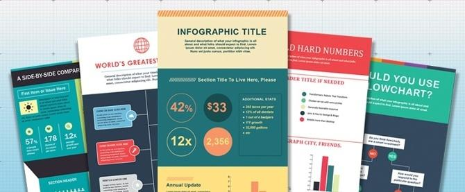 Cómo crear infografías en menos de una hora [15 Free Infographic Templates] – Veeme Media Marketing