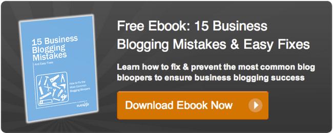 evaluación del blog Hubspot
