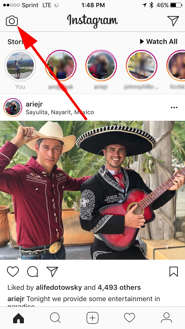 instagram-historias abiertas