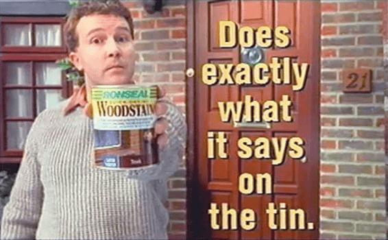El eslogan pegadizo de Ronsel, hace exactamente lo que dice sobre lata