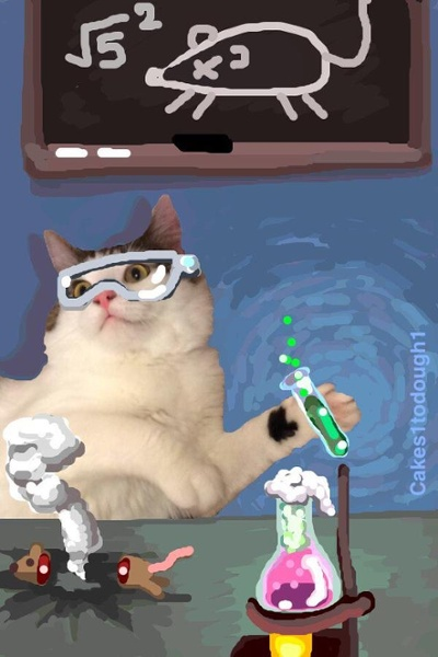 "cat-scientist-snapchat.jpg ""title ="" cat-scientist-snapchat.jpg ""width ="" 400 ""style ="" width: 400px"
