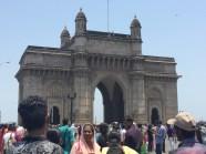the gateway of india. bombay, india. may 2015.