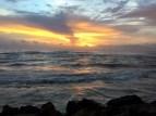 the sunset on my first full day. colombo, sri lanka. september 2015.