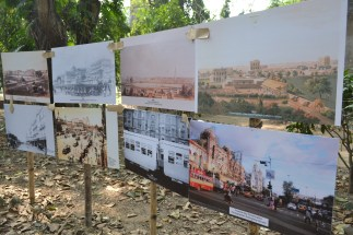 photos of the city through the years. calcutta, india. december 2015.