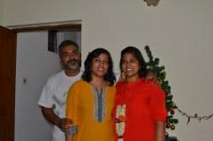 with bipin and akanksha. bangalore, india. december 2015.