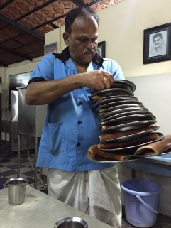ramesh uncle showing us all how it's done. bangalore, india. february 2016.