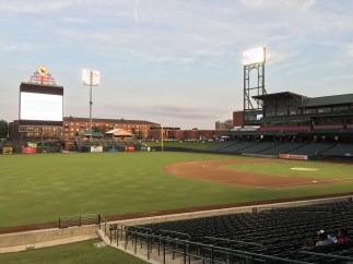 901 day at autozone park. memphis, tennessee. september 2016.