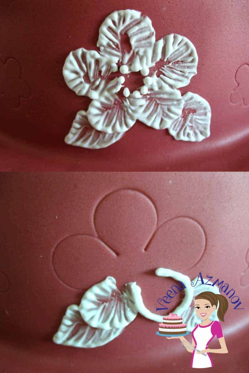 Brush Embroidery Cake Tutorial Lace Effect Veena Azmanov