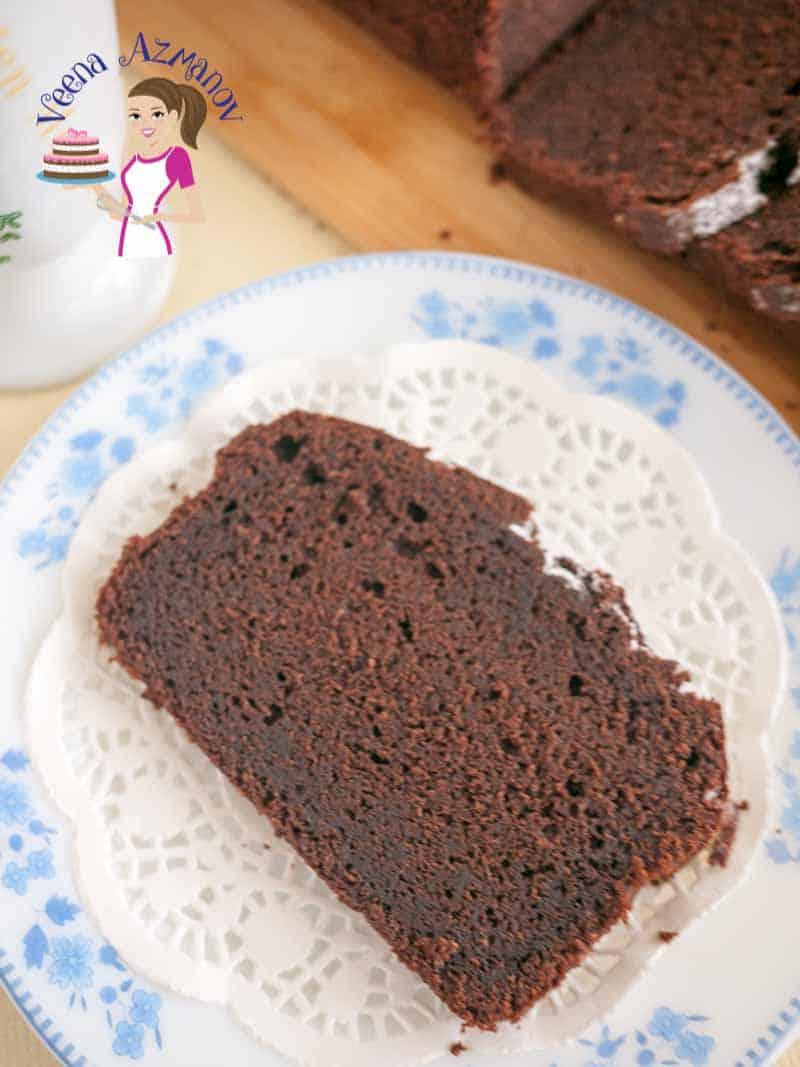 Classic Chocolate Pound Cake Recipe  Veena Azmanov