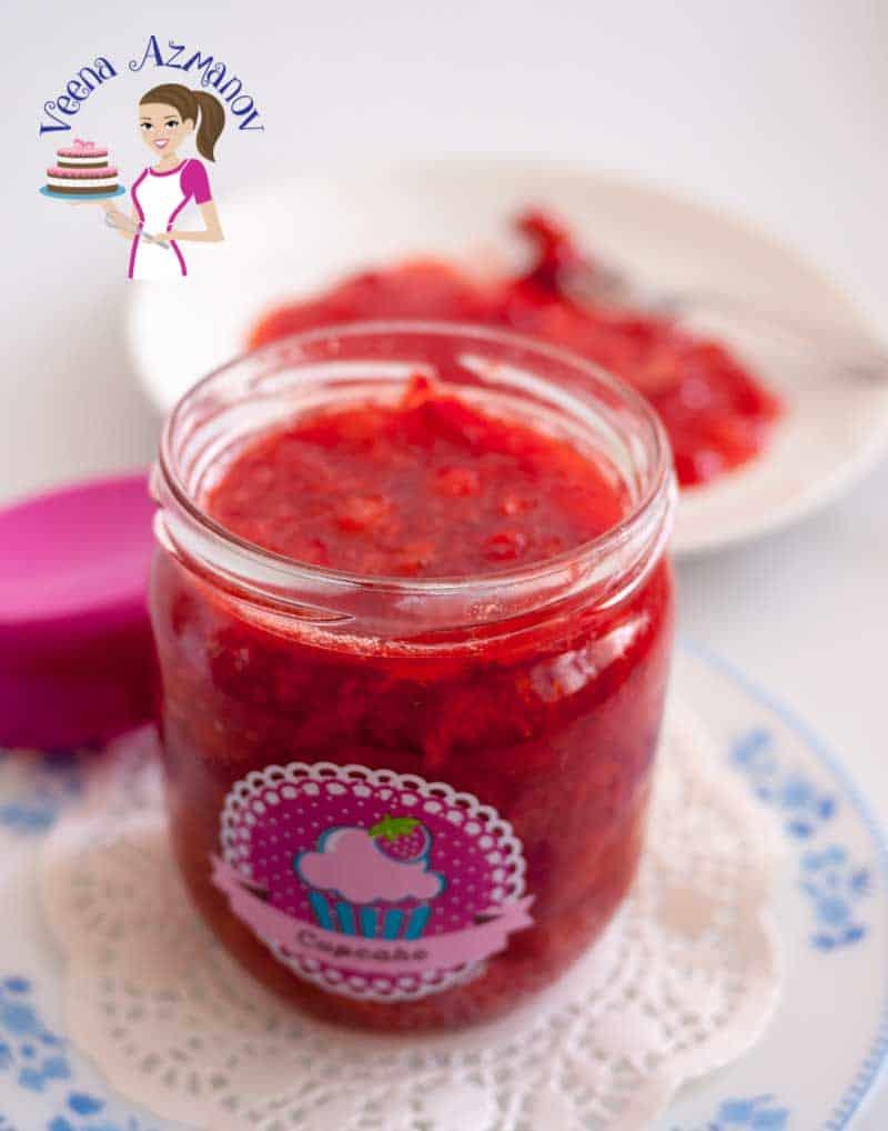 The Ultimate Strawberry Filling Recipe  Veena Azmanov