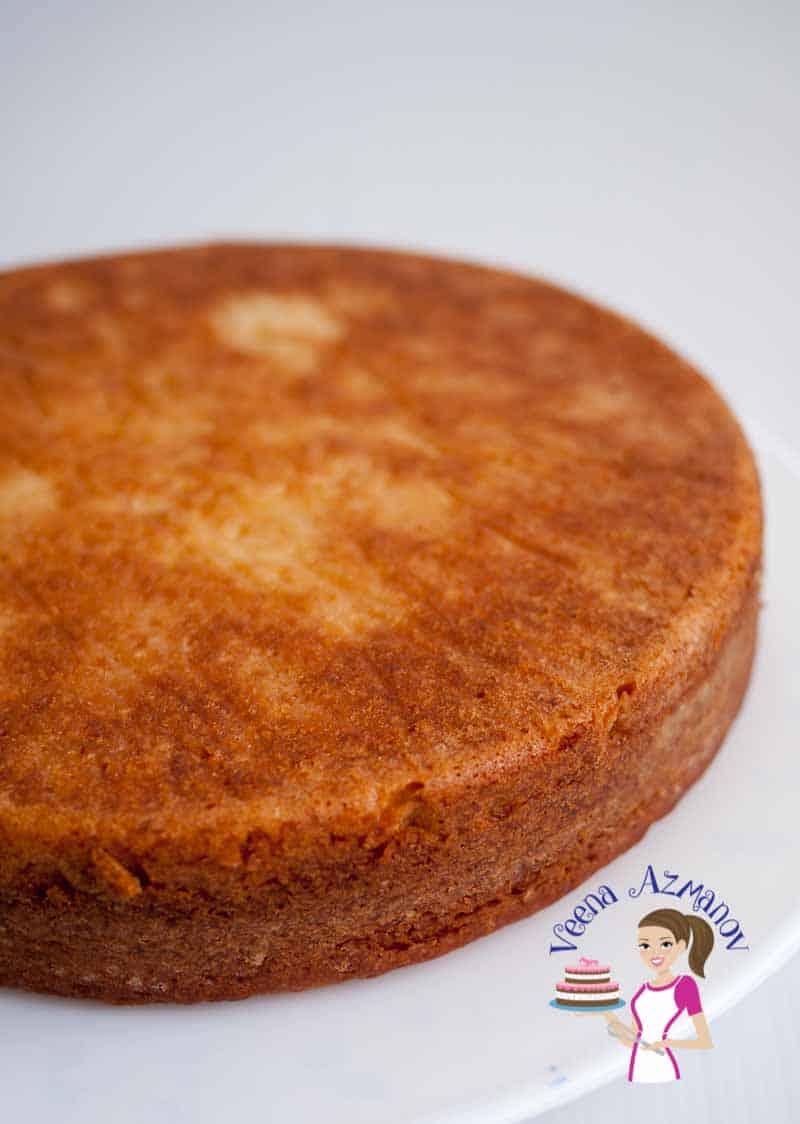 Eggless Vanilla Cake Recipe Eggless Cake Recipes Veena Azmanov