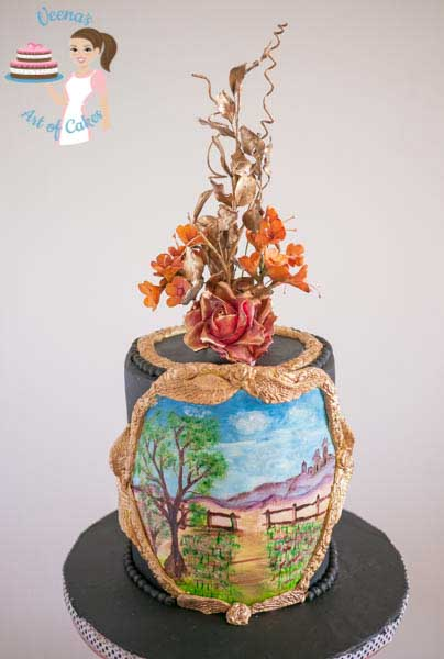 Hand Painted Cakes by Veena Azmanov
