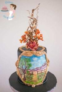 Hand Painted Cakes by Veena Azmanov