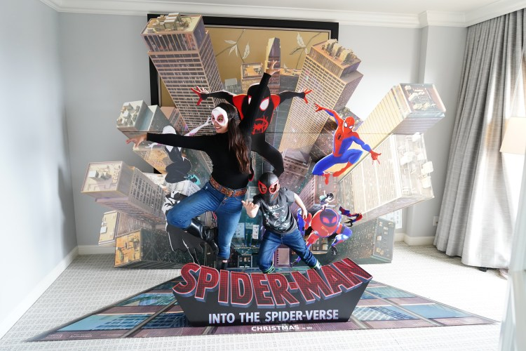 Spiderman: Into the Spiderverse Home Release