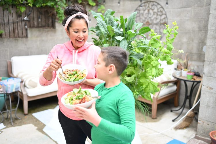 DIY Vegan Salad Bowls