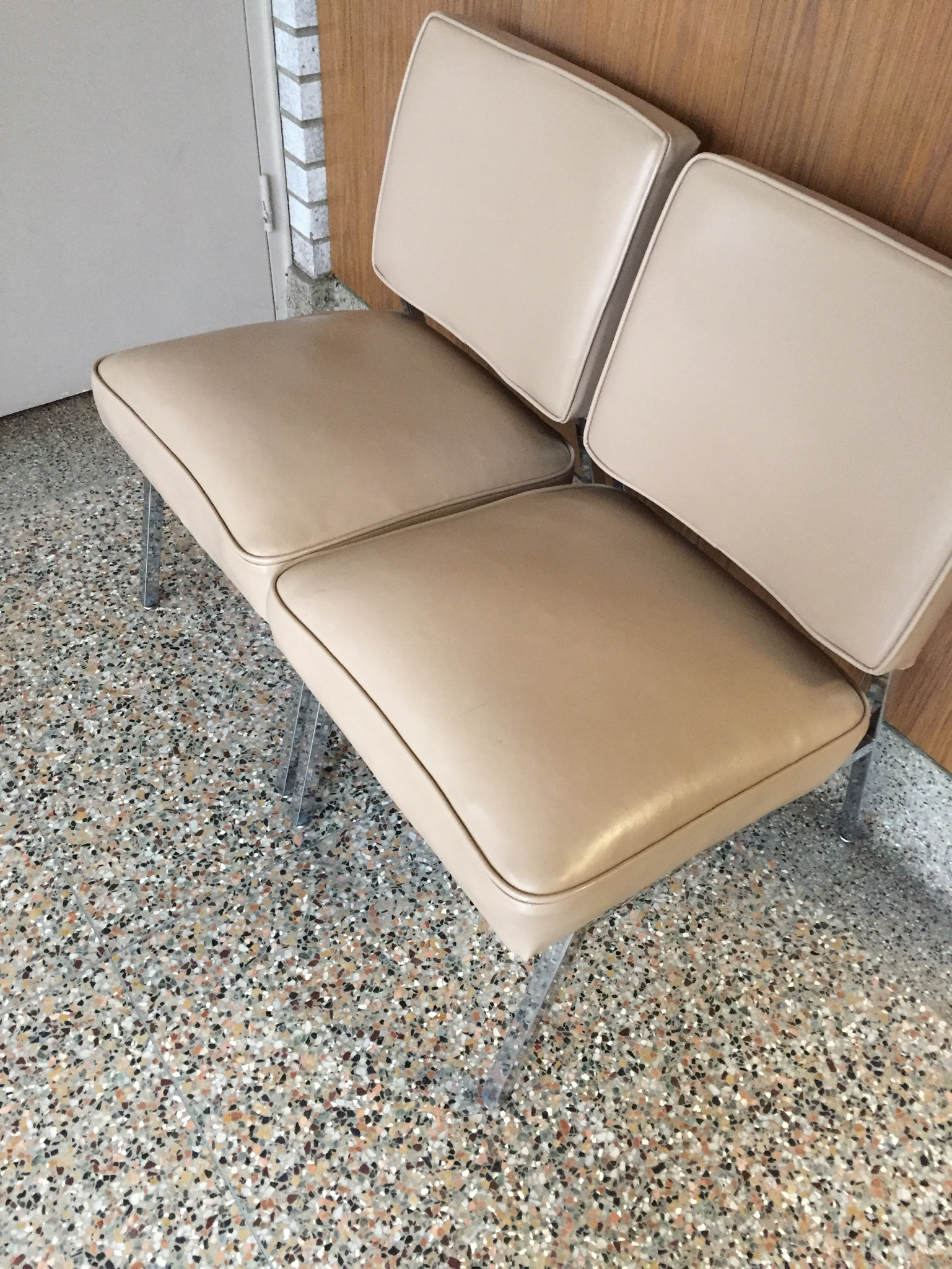 waiting room chairs for sale rubber chair rail vintage furniture veen