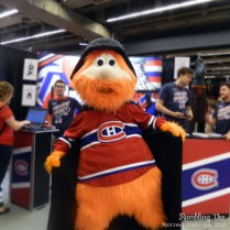 Even Youppi! was cosplaying.